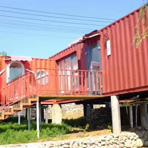 集装箱营地房价格